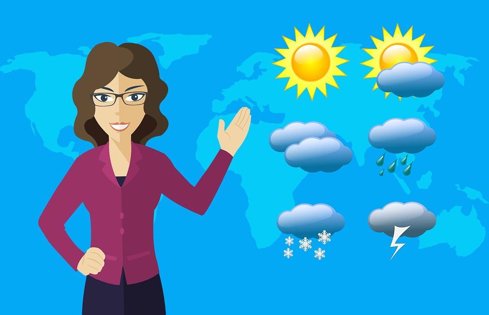 La météo, FLE niveau A1, A2, B1.