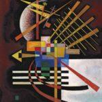 Kandinsky - au-dessus à gauche