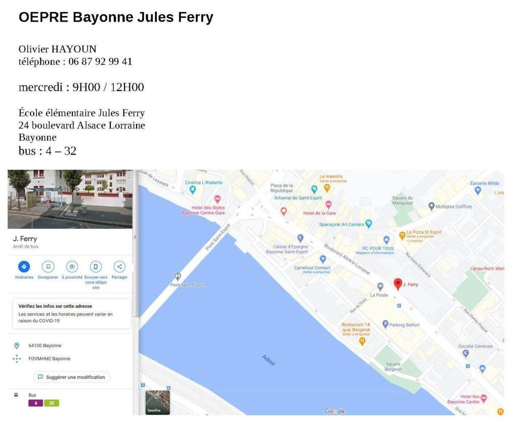 Brochure OEPRE Jules Ferry