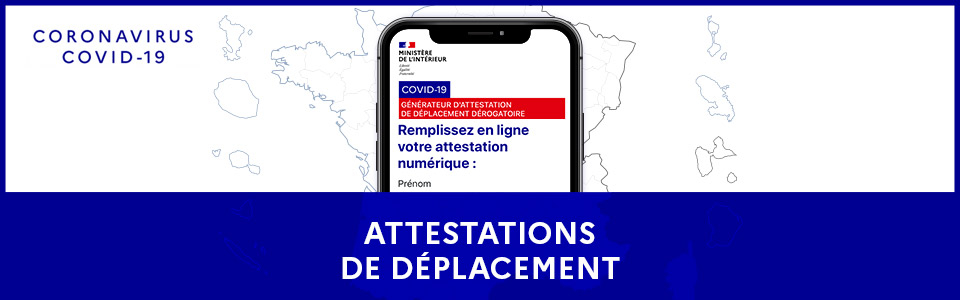 attestation de péplacement